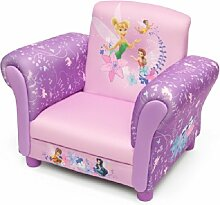 Disney Fairies Armlehne Stuhl mit Holz Innenteil Einzelsofa Kindersofa Sitzplatz Sessel NEU