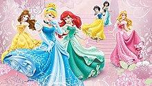 Disney - Foto-Tapete Disney Prinzessinnen Ballsaal - Größe 368 x 254 cm - 4-teilig