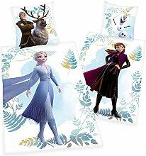 Disney Frozen 2 Anna ELSA Olaf Flanell Wende