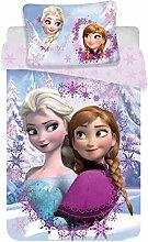 Disney Frozen Anna ELSA Bettwäsche Set Einzelbett