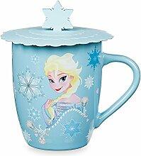 Disney Frozen Anna und Elsa Tasse mit Deckel