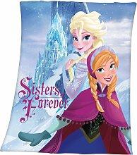 Disney Frozen Babydecke Eiskönigin 130x160 cm lila