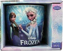Disney Frozen Becher Keramiktasse, Verfügt Elsa,