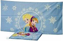 Disney Frozen Bettwäsche Set, Baumwolle, hellblau, für Einzelbe