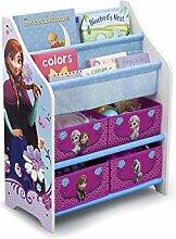 Disney Frozen Bücherregal Holz Multi Toy Organizer Kinderregal Spielzeugregal