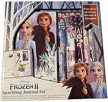 Disney Frozen II Sparkling Journal Notebook and