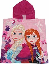 Disney Frozen Kinder Poncho-Handtuch mit Elsa und