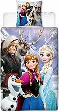 Disney Frozen Kinder Wende-Bettwäsche 135x200 cm