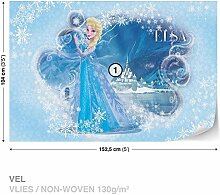 Disney Frozen Vlies Fototapete Tapete Vliestapete Dekoshop Disney Eiskönigin DK835VEL (152,5 x 104cm) Photo Wallpaper Mural