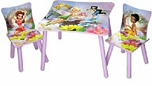 Disney Kindersitzgruppe Fairies Tisch + 2 Stühle