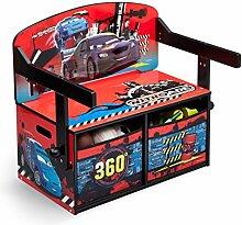 Disney - Kindersitzgruppe - Kindertisch - Kinderbank 3in1 mit Motivauswahl (Cars Nitroade)