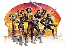 Disney Lizenz Star Wars 1613p8Wanddekoration Tapete Compose, 4Panele Vlies 368,0x 254,0cm