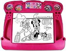 Disney Maltisch - Maltafel - Kinder Malset - Activity Desk mit Motivauswahl (Activity Desk Minnie Mouse)