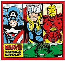 Disney Marvel Comics 'Retro' Teppich