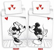 Disney Mickey & Minnie Mouse Love Bettwäsche,