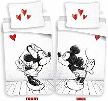 Disney Mickey & Minnie Mouse Love Bettwäsche,