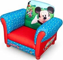 Disney Mickey Mouse Armlehne Stuhl mit Holz Innenteil Einzelsofa Kindersofa Sitzplatz Sessel NEU