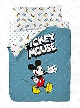 Disney Mickey s Blue Bettwäsche-Set, für Betten