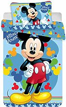Disney Micky Maus Baby-Bettwäsche Set 135 x 100cm