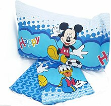Disney Micky Maus und Donald Duck Bettwäsche-Set,