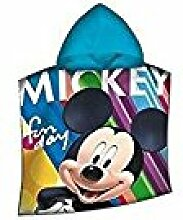 Disney Micky Maus WD19476 Bademantel, Badeponcho,