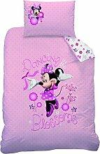 Disney Minnie Maus Bettwäsche 110x140cm 100%