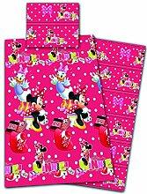 Disney Minnie Maus Bettwäsche Microfaser