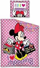 Disney Minnie Maus Einkaufstasche 100% Baumwolle