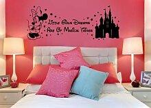 Disney Minnie Maus Wandtattoo Magical Things