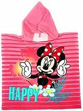 Disney Minnie Mouse Badeponcho Poncho Badetuch