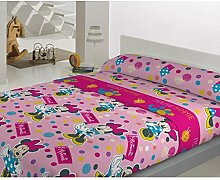 Disney Minnie Mouse bed sheet Coral Fleece Winter