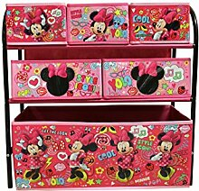 Disney Minnie Mouse Kinderregal aus Metall mit