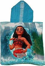 Disney Moana (Vaiana) Kinder Poncho Handtuch.