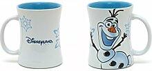 DISNEY OLAF KERAMIK BECHER TASSE DISNEYLAND PARIS CUP MUG
