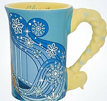 Disney Parks Elsa aus Frozen Keramik Kleid Becher NEU