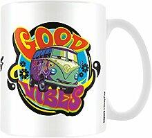 Disney Pixar Cars, Good Vibes Becher aus Keramik, mehrfarbig