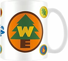 """Disney Pixar """"Up, Wilderness Explorers"""" Keramik-Becher"""