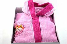 Disney Princess Bademantel Mädchen pink Frottee