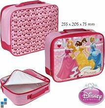 Disney Princess Brottasche Isolierte Kühltasche Lunchbox Kindergartentasche mit Henkel