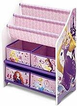 Disney Princess Bücherregal Multi Toy Organizer Kinderregal Spielzeugregal