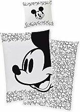 Disney`s Mickey Mouse Satin Bettwäsche Bettbezug