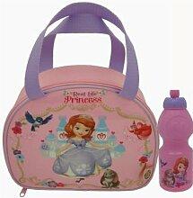 Disney Sofia Die Erste Brottasche & Passende Trinkflasche