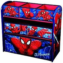 Disney Spiderman Kinderregal aus Holz mit 6