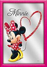Disney Spiegel Love Minnie mit rosa Rahmen in