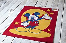 Disney Spielmatte ,Educational Alphabet, 95 x 133 cm, VariousDesigns Playmatsverschiedene Designs erhältlich Mickey Mouse Red