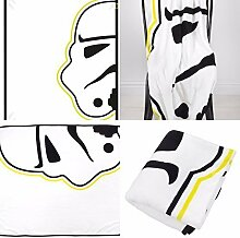 "Disney Star Wars Classic """"Storm"""" Super Soft Fleece Decke, Mehrfarbig"