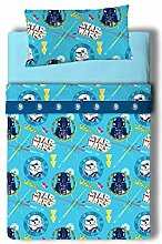 Disney Star Wars Doodle Bettwäsche-Set, 3-teilig,