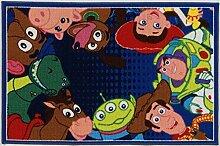Disney Teppich A.L. Toy Story Ts06 blau/Mehrfarbig