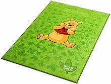 Disney Teppich Comfort Line Winnie grün 100 x 150