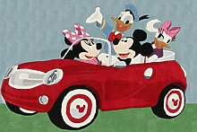 Disney Teppich Premium Mickey Cars grau/grün/rot